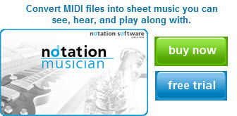 Notation Musician Ad - medium
