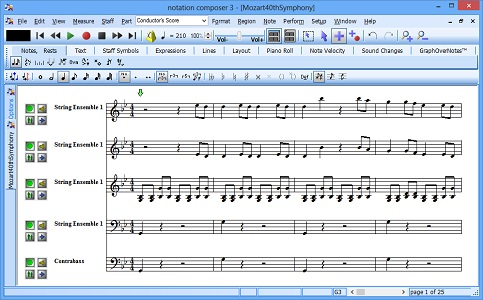 Notation Composer Screen shot