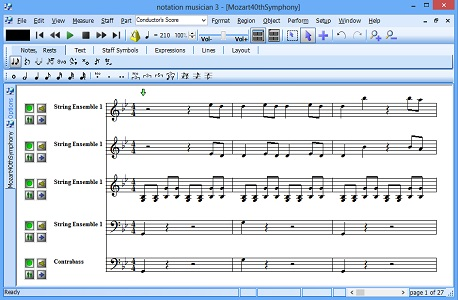 Click to view Notation Musician screenshots