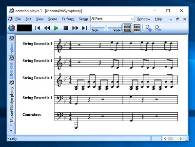notation player Screen shot