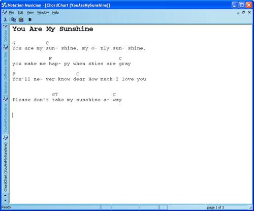 Chord Chart Software Free Download Nightprogram
